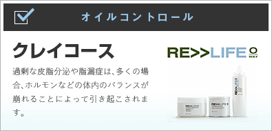 〜RE>>LIFE〜クレイコース